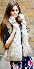 artificial fur coat promotion