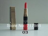 Free shipping wholesale makeup CC Lipstick + Lip Gloss 2IN1( 2pcs/lot)