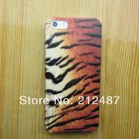 2014 hot sale  case for iphone 4/5 hard  leopard grain case for iphone4s/5s fashion hard case for Iphone