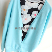 Sweater cardigan sweater plus size candy