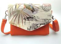 Free shipping women's handbag , Print Casual  CoinPurse  messager Bags 20*17cm