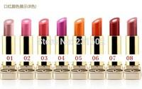 3pcs/lot  pink nude  sandwich lip balm lustre 2 flavors naked makeup cosmetics brand lipstick