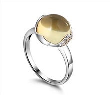 citrine rings silver promotion