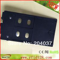 Free Shipping Printable PVC/Plastic ID Card Tray For Can con Inkjet Printer Suitable MG5220 MG5240 MG5250 MG6120 MG6140 MG6150
