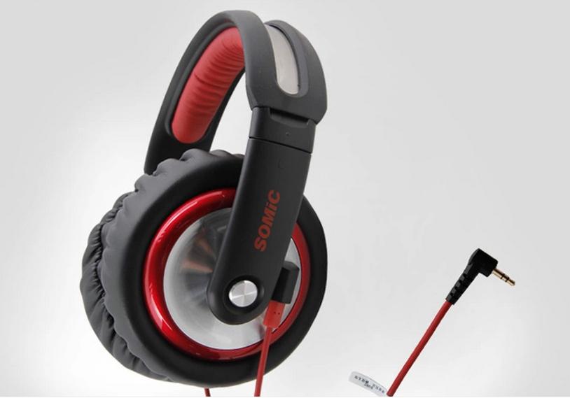 Gaming Headphones Somic MH489 Cmputer DJ Monitor s Music Earphones Gaming Earphones Consumer Electronics Mic for