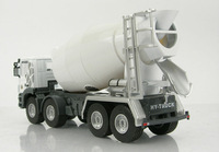 1:50 HY Truck 5012 collectible die-cast scale model replica Alloy vehicles Static construction vehicles Tanker Cement mixer Toys