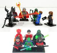 12 Sets Building Toys Minifigure Super Heroes Series Blocks Toy Mini Figures
