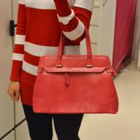 Genuine leather women's handbag fashion all-match cowhide shaping bag big bags one shoulder handbag