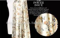Free shipping 2014 new 100% mulberry silk fabric charmuse silk printed plain scraf dress bedding sets LS07107