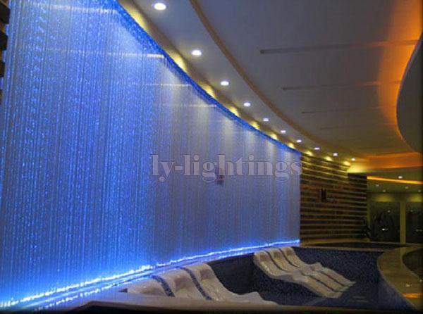 For decoration lighting optic fiber cable end glow plastics 0.75mmx50pcsx2m clear optical fibre plastics line(China (Mainland))