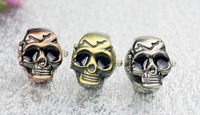 5pcs/lot  Ghost ring watch Personality/ghost head skull alternative students ring