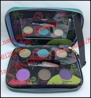 2014 New - 6 pcs fun 6 colors eyeshadow palette and lipgloss makeup! happy-shopping