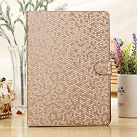 Luxury Silk Diamond pattern Stand Folio Smart Case Leather Cover For Apple iPad Air ipad 5 Retina Skin PU wake up sleep function