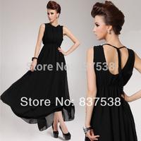 Summer dress 2014 Women Pluse size Chiffon Maxi long evening dress Fashion Club dresses women long party dresses