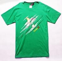 Drop Shipping New 2014 Fashion Cotton Man Shirt t-shirts Short Sleeve Sportwear Camiseta Masculina Brand Surf T Shirt