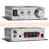 1 Set Professional LP-2020A + Lepai Tripath Class-T Audio Mini Hi-Fi Stereo Power Digital Amplifier With 3A Power Supply S012