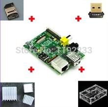512 ARM Raspberry Pi 3 heat sinks 1 board case 1 usb network card 1 TF