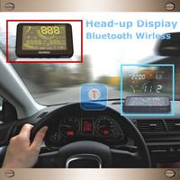 New Generation Wholesale Wireless Bluetooth Car HUD Head-Up Display