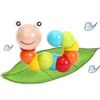 Wool magicaf multicolour twister baby puzzle early learning toy 0.06