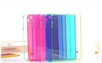 New Arrival colorful Crystal TPU case for ipad mini , free shipping