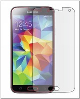 Clear Protective Film Front LCD Screen Protector Guard Cleaning Cloth For Samsung Galaxy S5  i9600