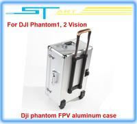 Free Shipping 2014 hot Dji phantom FPV Professional Aluminum Case Box Outdoor Protection for DJI Phantom 2 Vision X350Pro
