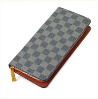 Commercial male wallet male long design wallet ultra-thin genuine leather wallet multi card holder purse wallet
