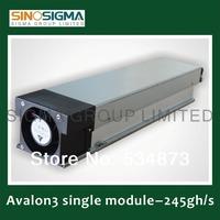 Bitcoin Miner Avalon Generation 3 Single Module 207-269gh/s ,avalon chip ,40nm newest version ,Sinosigma brand