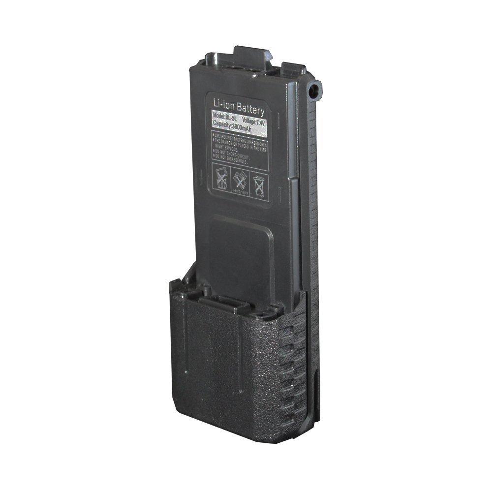 Baofeng uv-5r battery 3800mAh 7.4v Li-ion for ham radio transceiver UV-5R BF-F8 BF-F8+ Plus(China (Mainland))