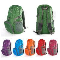 Can storage double-shoulder hiking backpack ultra-light ride backpack 35l travel backpack bag
