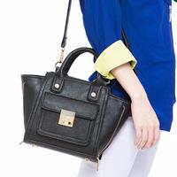 2013 new shoulder bag handbag agent bat bag zipper lock bag small  Messenger bag