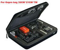 Gopro waterproof case Large For Gopro hero 3 2 1 Camera Accessories Gopro big box black