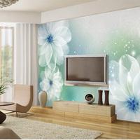 Mural tv wall painting modern brief sofa mural