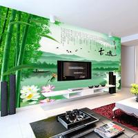Mural wallpaper tv wall wallpaper mural tv background wall - ink classical landscape