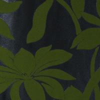 B1-21 Emboss fashion brief fashion background wallpaper green flock printing wallpaper