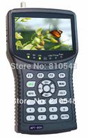 Free shipping 4.3 inch DVB-S DVB-S2  HD Satfinder digital satellite signal finder satellite meter Kangput 955H