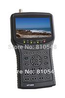 4.3 inch TFT LED Handheld Multifunctional HD Satellite Finder & Monitor Kangput 955G Support Video & Audio &DC12V power test