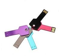AU11 Wholesale 2014 Metal Key model  Enough 4GB 8GB 16GB 32GB 2.0 USB Flash drive disk memory stick  Car Key Boy  Toys Gift