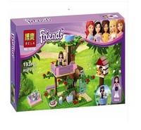 Bela Friends 10158 191pcs+1 doll figure Olivia's Tree House 3065 learn & education enlighten building blocks toy bricks for girl
