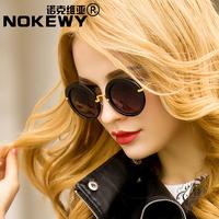 Fashion circle women's sunglasses male sunglasses black prince's mirror fashion personalized sunglasses