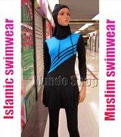 New Modest One Piece Islamic Swimsuit  fashion new arrivals women muslim swimwear,islamic swimsuit