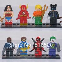 Wholesale SY178 Super Hero The Flash Figures Classic Toys DIY Building Blocks Bricks Minifigures Toy For Children