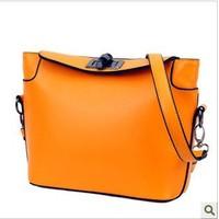 2014 Direct Selling Solid Bag Small(20-30cm) Zipper Solid New Fashion Women Shoulder Bags Messenger Designer Leather Handbags