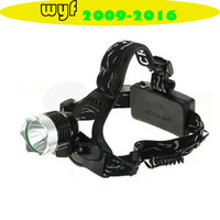 High Power 1800LM CREE XM-L T6 LED Bicycle Camping Hiking Headlamp Headlight+AC Charger/Car charger/2x18650 5000mAh battery