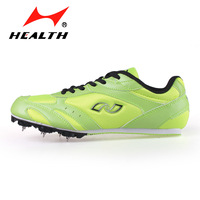 Hales running spikes 555 - 1 nail shoes running shoes sprint spikes green