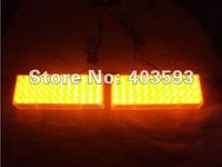 2X48 LED 96 LED Car Strobe Light Kit LED Car Flash Strobe Light Car Truck Emergency Flashing Strobe Light