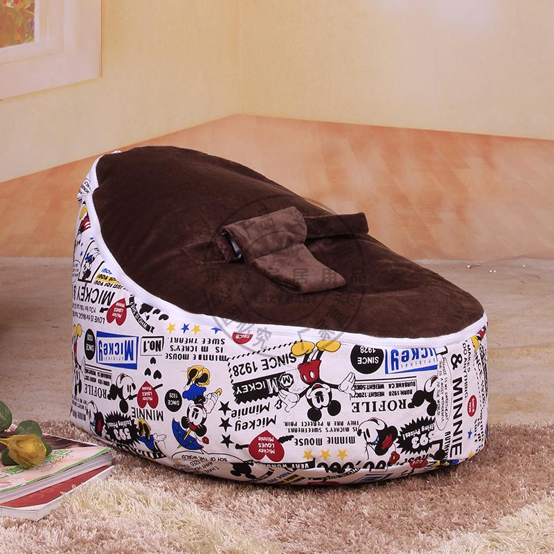 2014 New Design Newborn Baby beanbag seat with filler kids bean bag chair waterproof furniture baby sofa Free Shipping Via EMS(China (Mainland))