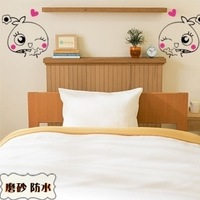 Mushroom dot child real bedside wall stickers indoor decoration onwalls sticker picture m309
