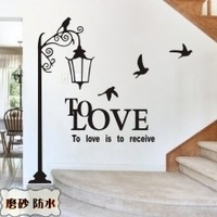 2014 Top Fasion New Arrival Army Red Brown Transparent Burgundy Black Still Life Xl M040 Fashion Stickers Lamp Sofa Background