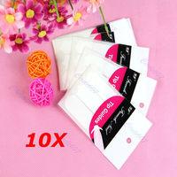 alex  10pcs/lot French Manicure Nail Art Tips Form Fringe 3 Style Guides Sticker DIY Stencil